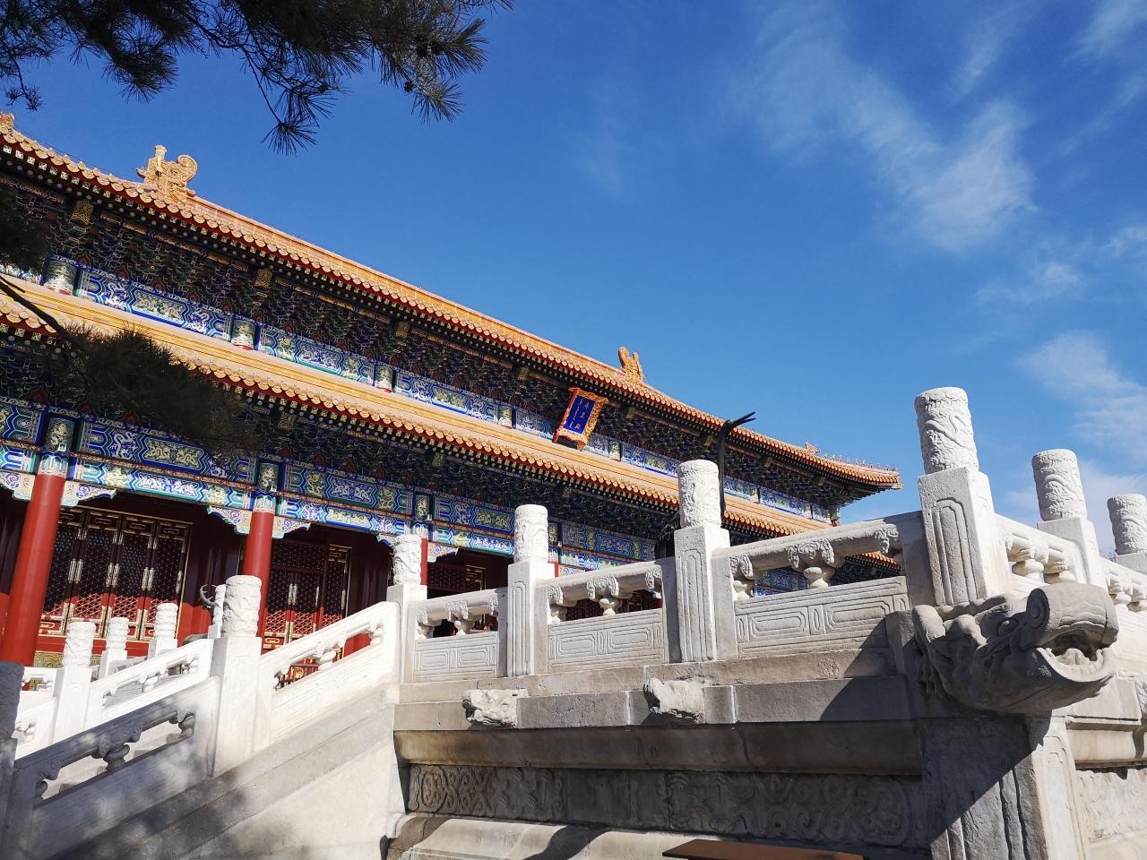 寿皇殿向公众开放